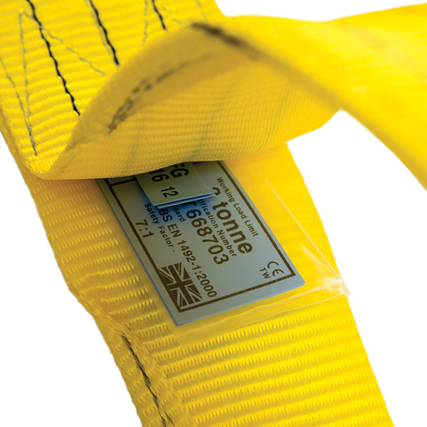 Webbing Sling Label