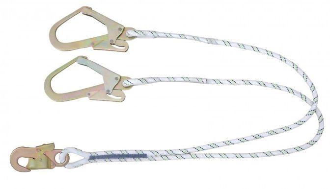 Twin Leg Rope Restraint Lanyard